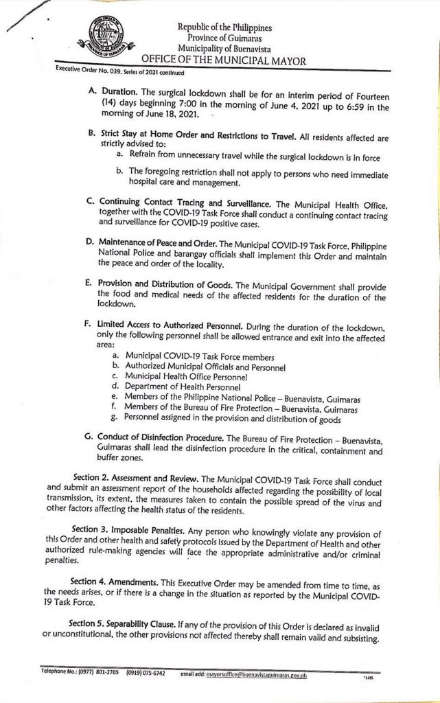 Executive Order 39 page 2