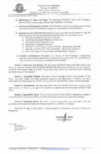 Executive Order No. 048 Page 2 of 2