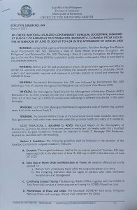 Executive Order 49 Page 1 of 2