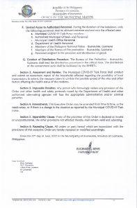 Executive Order No. 052 Page 2 of 2